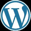 Vi levererar b la. våra sidor med WordPress